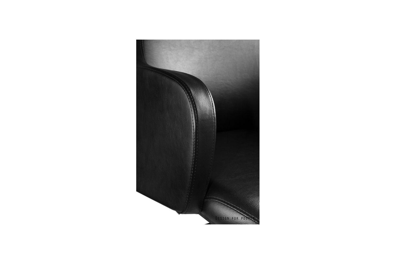 Kancelářská židle Babsy eko kůže stabilní