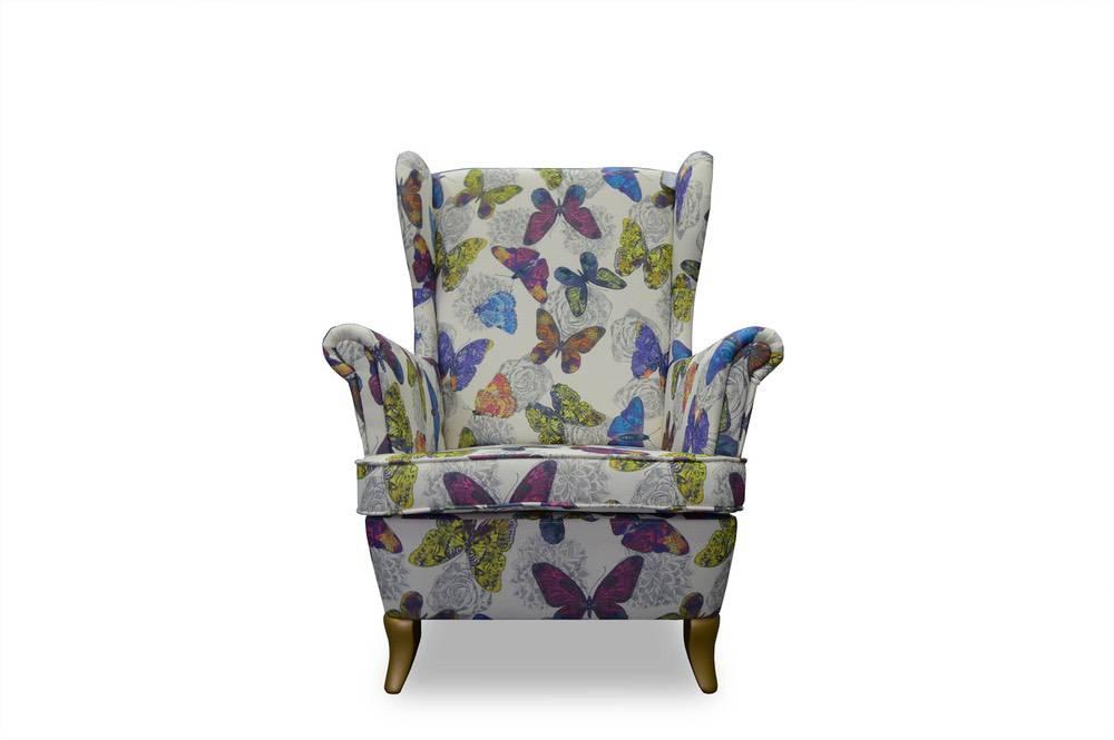 Designové křeslo Olive Chesterfield - různé barvy