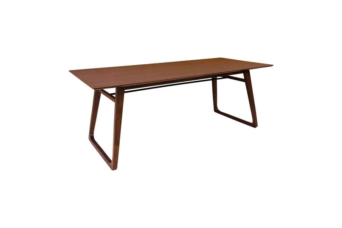 Designový jídelní stůl Miriam 200, ořech