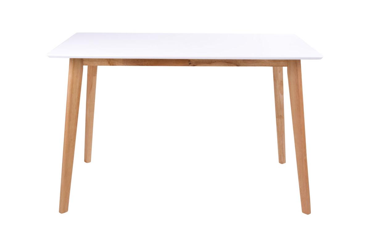 Designový jídelní stůl Carmen, přírodní / bílý - Skladem na SK (RP)