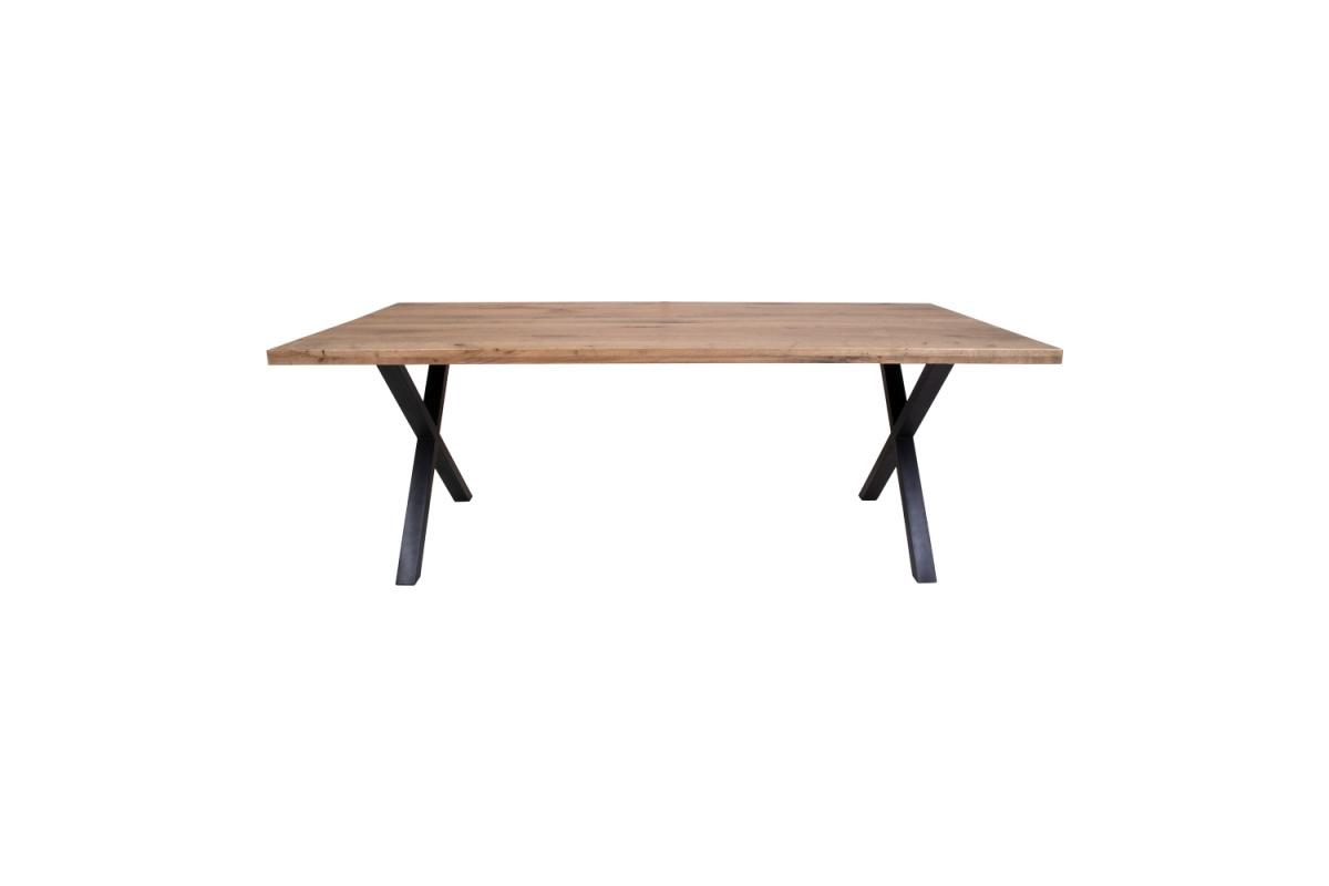 Designový jídelní stůl Finnegan, tmavý dub
