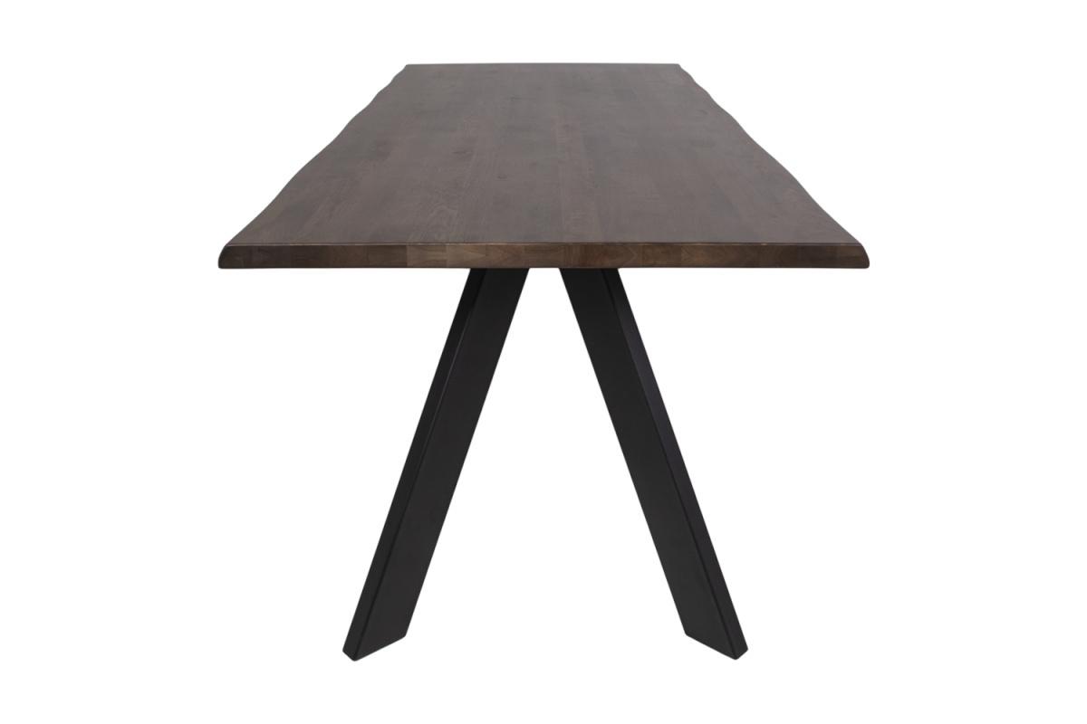Designový jídelní stůl Skye, tmavý olejovaný dub