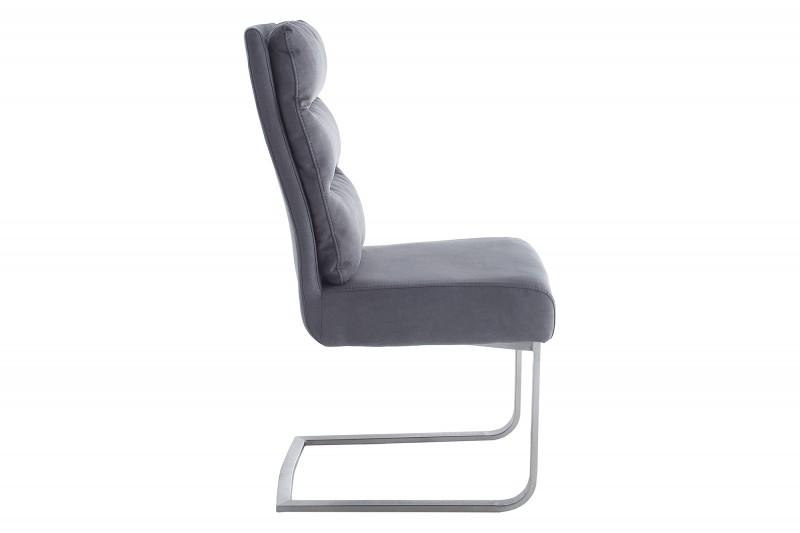 Jídelní židle Frank vintage šedá