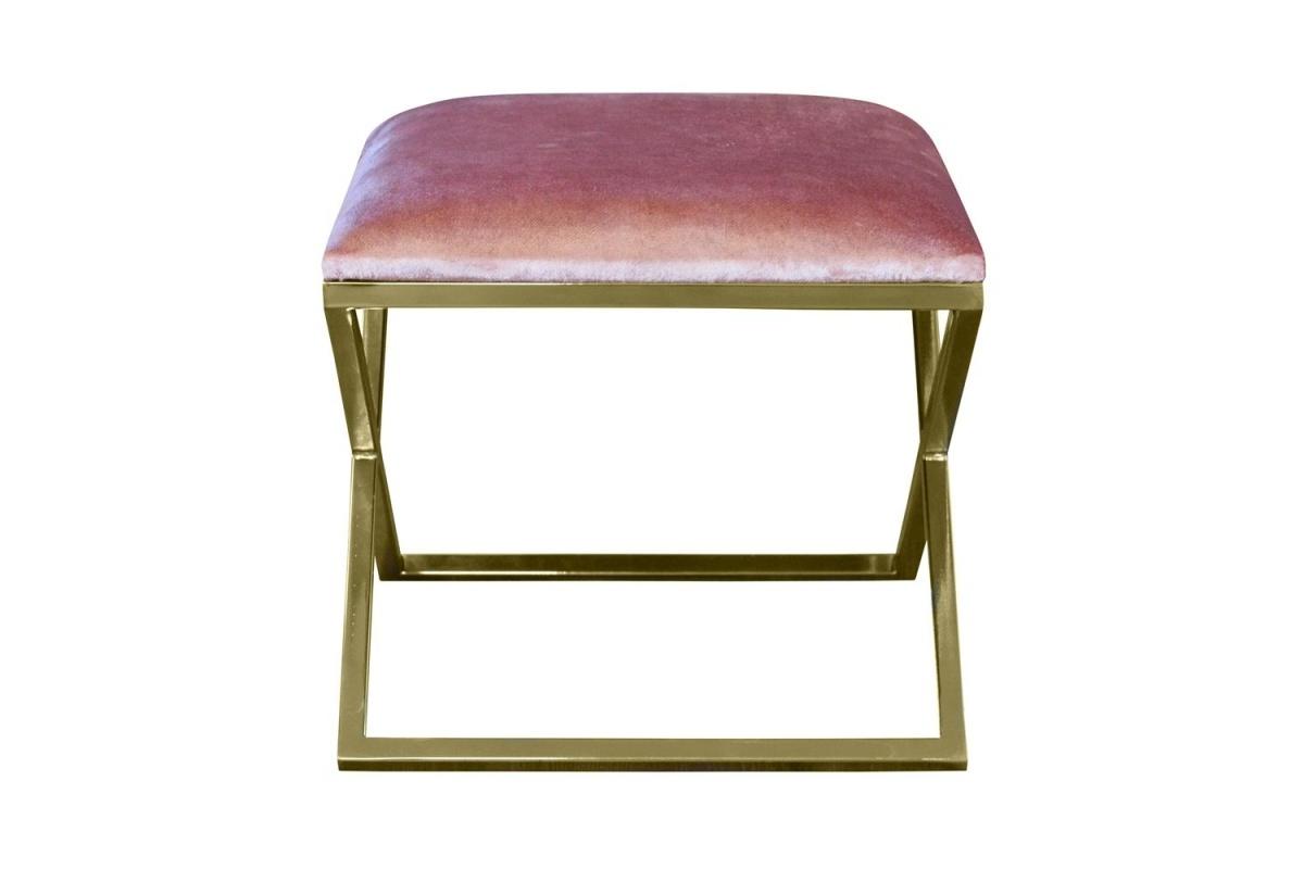 Designová taburetka Hanna, prošívaná - různé barvy