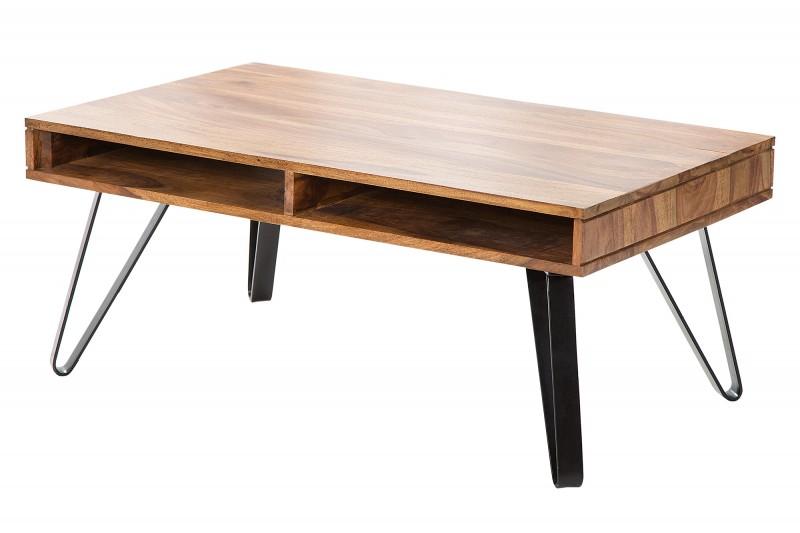 Designový konferenční stolek Express 100 cm, sheesham