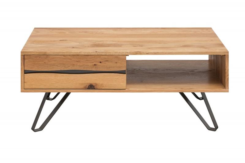 Designový konferenční stolek Fringe, 110 cm, divoký dub