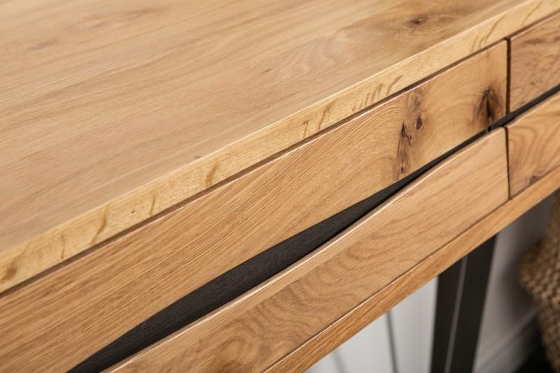 Designová konzola Fringe, 120 cm, divoký dub