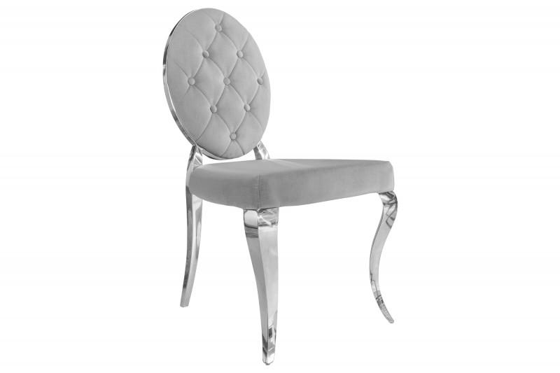 Designová židle Rococo II šedá - Skladem na SK (RP)