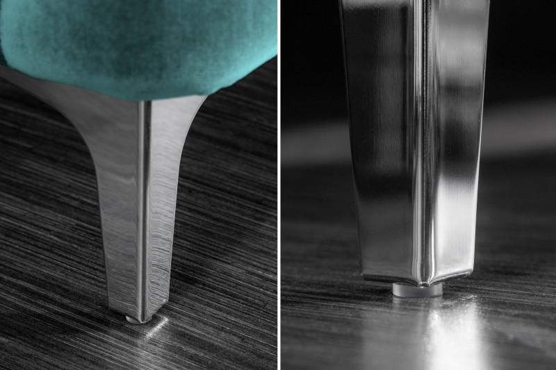 Designová sedačka  Rococo 240 cm / Aqua
