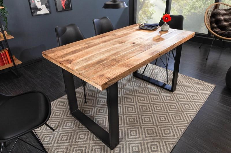 Designový jídelní stůl Thunder 120 cm mango