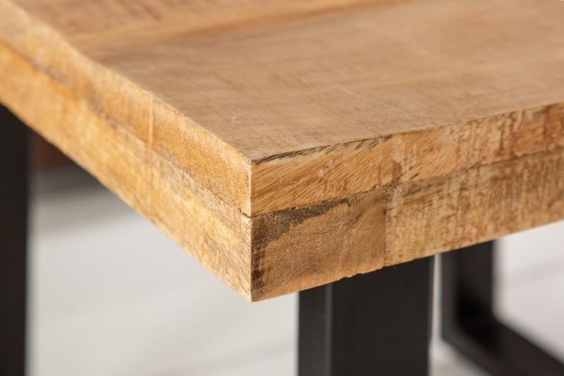 Designový konferenční stolek Thunder 60 cm mango