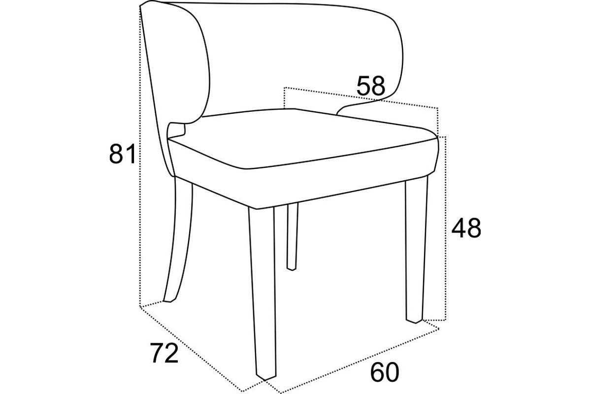 Designová jídelní židle Tiana - různé barvy