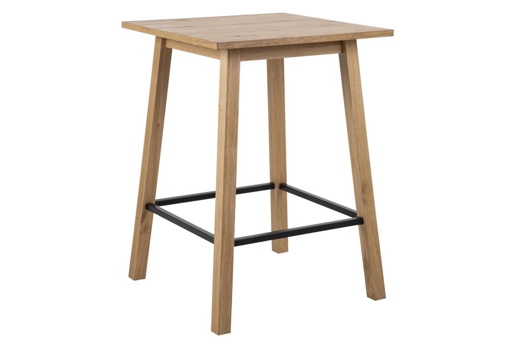 Barový stůl Nadida 75 cm divoký dub