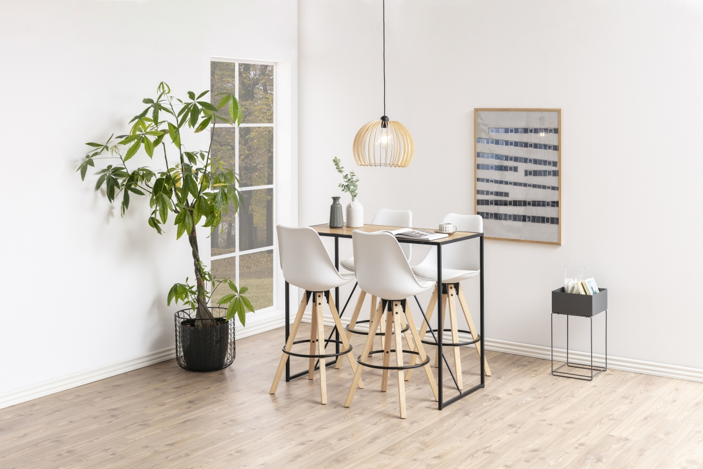 Barový stůl Naja 120 cm divoký dub