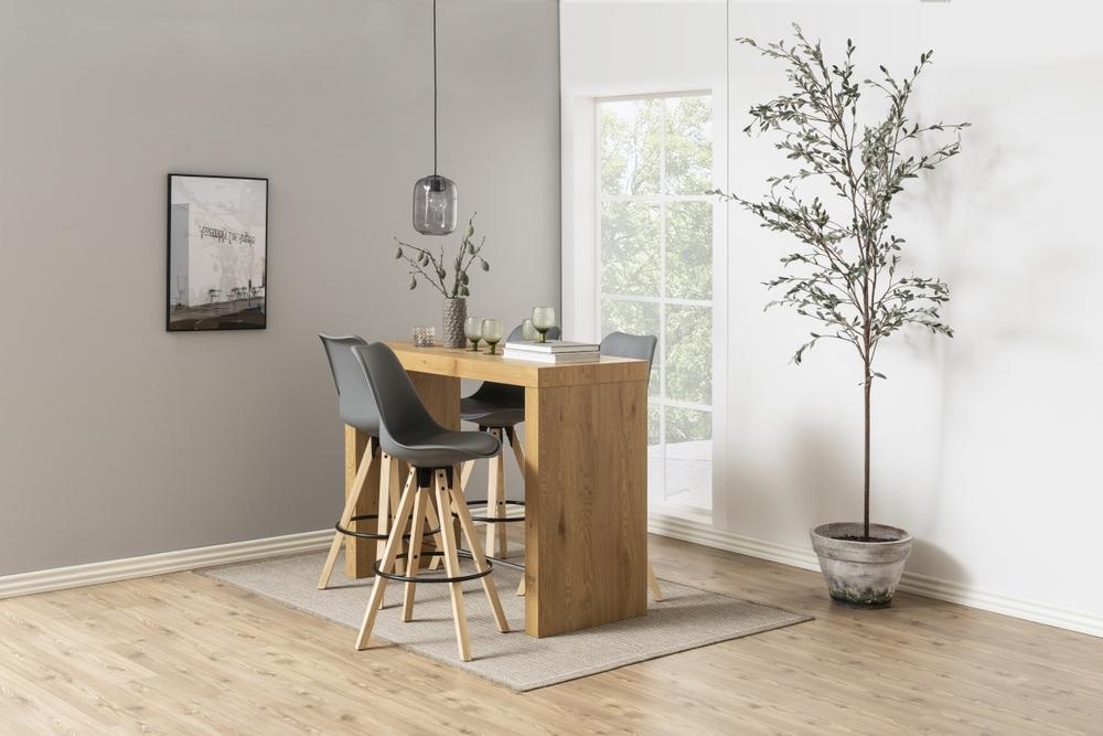 Barový stůl Nazira 105 cm divoký dub - Skladem na SK (SB)