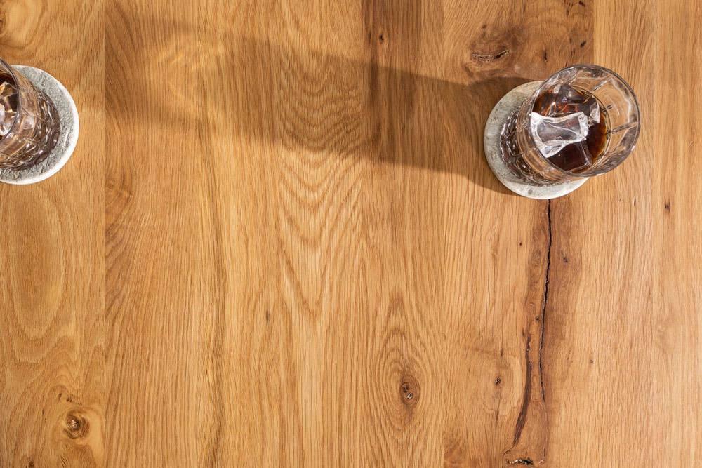 Barový stůl Queen 120 cm divý dub
