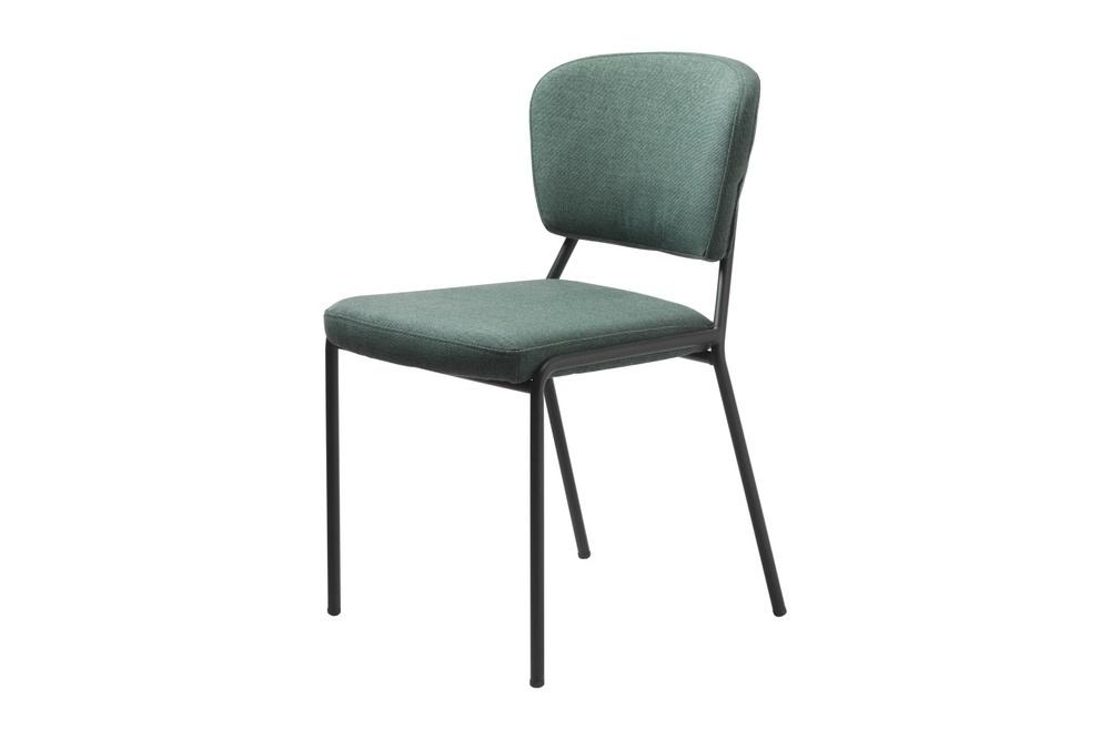 Designová jídelní židle Alissa zelená