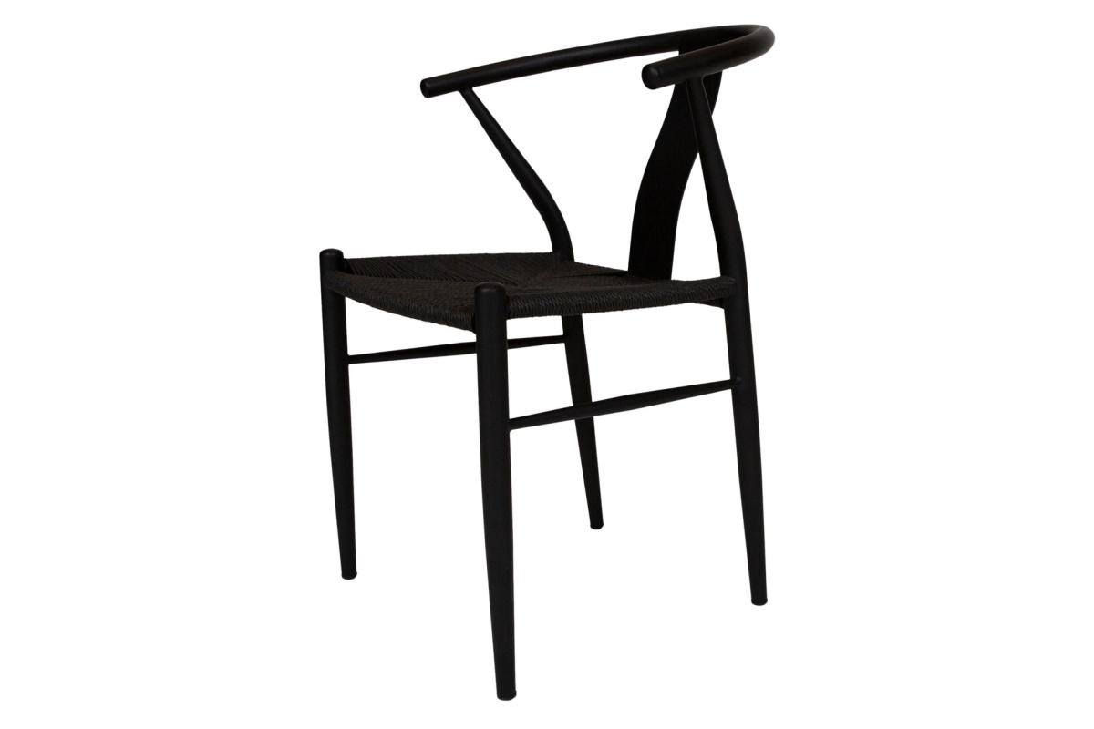 Designová jídelní židle Olto černá