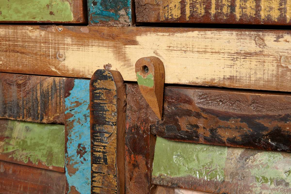 Designová komoda Jacktar 160 cm recyklované dřevo