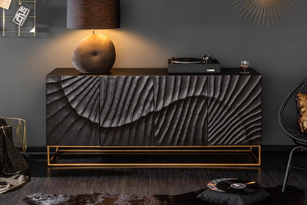 Designová komoda Shayla 177 cm mango