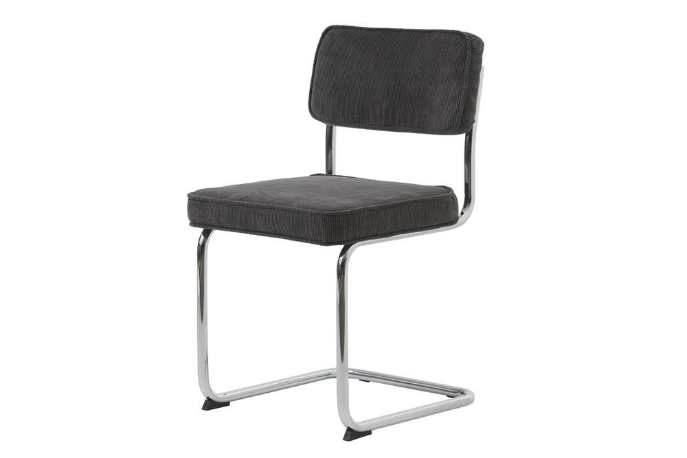 Designová konzolová židle Denise šedá