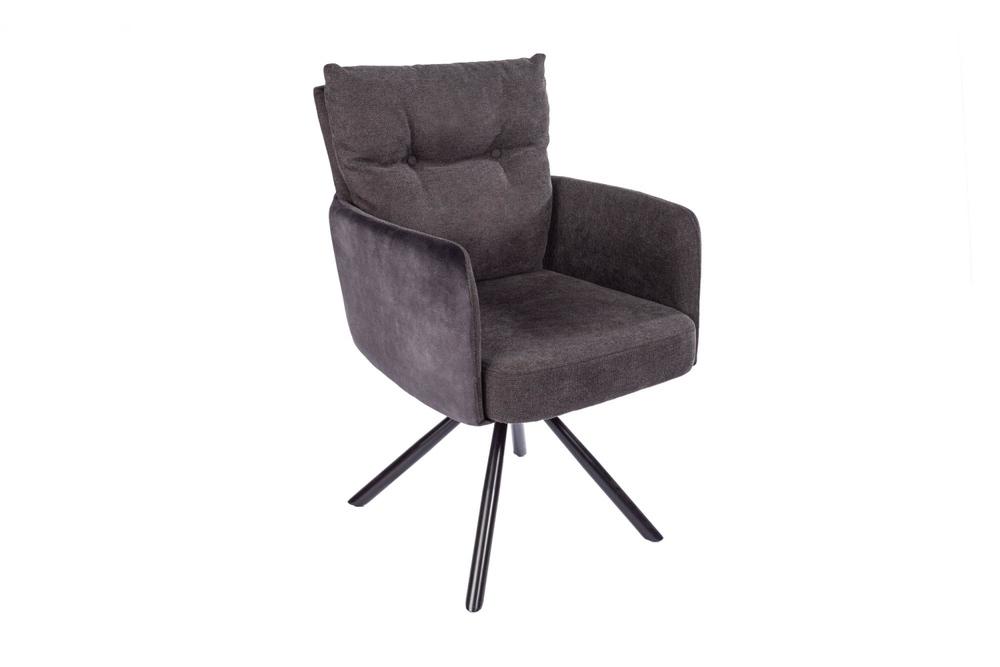 Designová otočná židle Maddison antracit