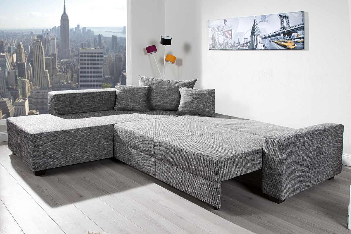 Designová rohová sedačka Douglas 245 cm grafit