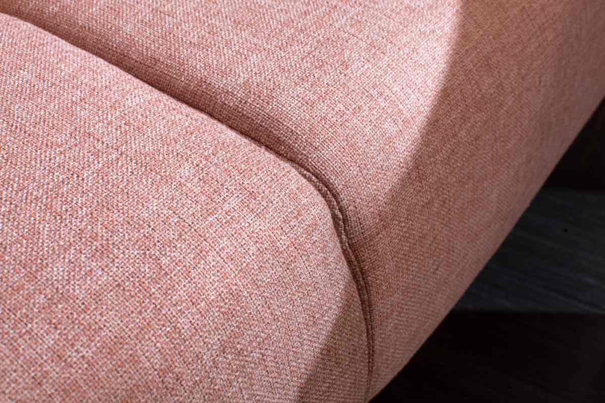 Designová rozkládací sedačka Blaine 208 cm starorůžová