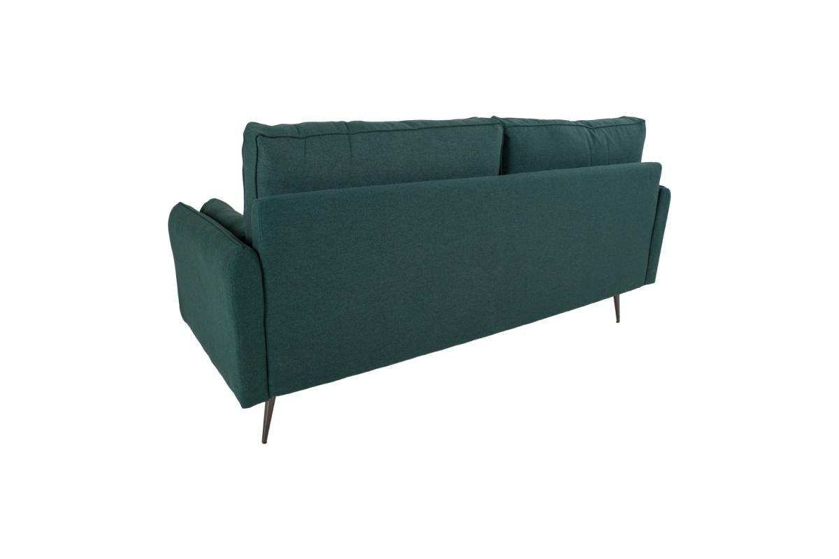 Designová sedačka Kristian zelená