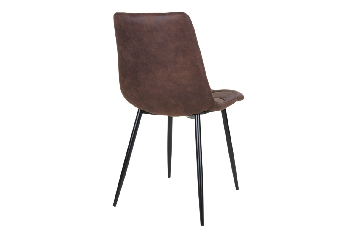 Designová židle Dominik tmavě hnědá - Skladem na SK (RP)