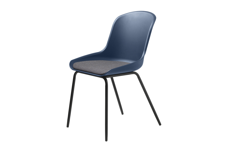 Designová židle Elisabeth tmavomodrá