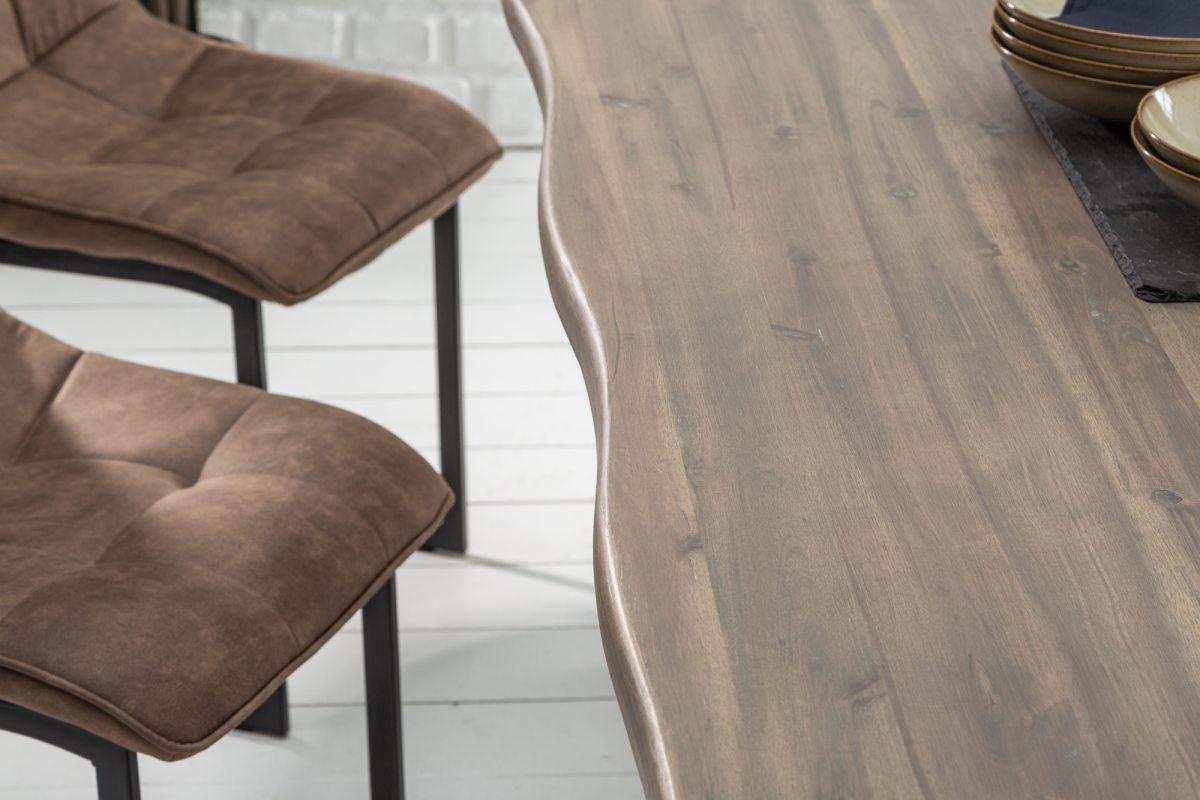 Designový jídelní stůl Evolution Grey 200 cm akácie