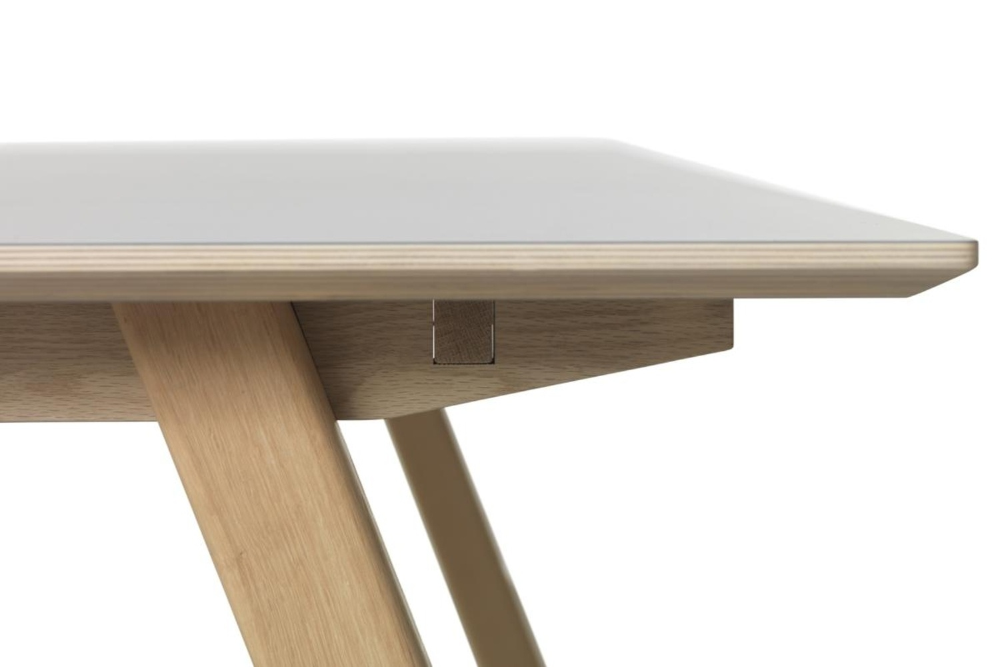 Designový jídelní stůl Jaxen 90 x 180 cm