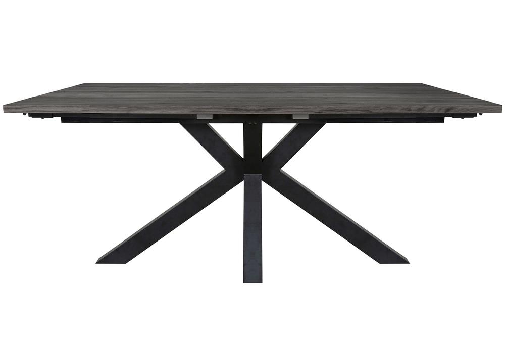 Designový jídelní stůl Madie tmavě šedý 180 - 280 cm