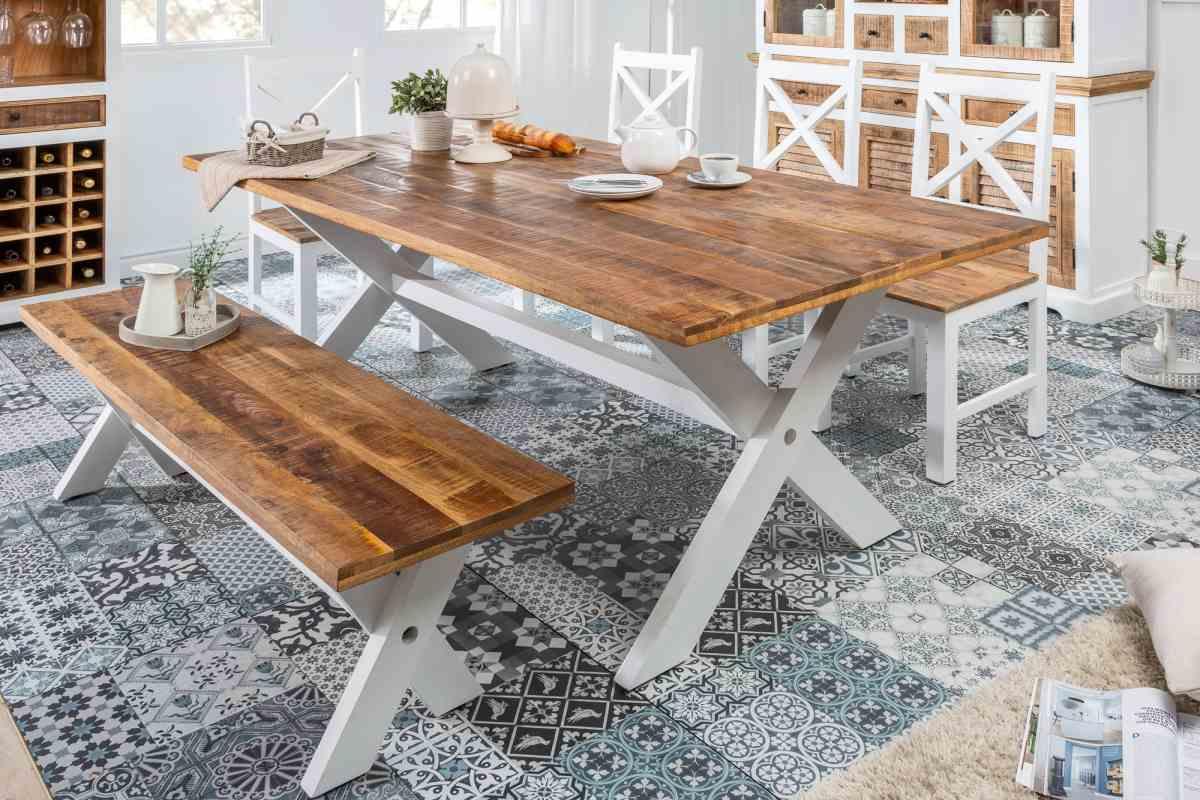 Designový jídelní stůl Rodney 160cm mango
