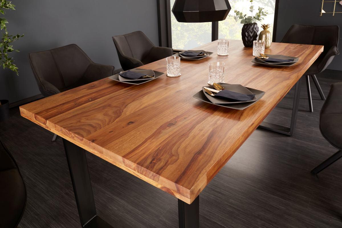 Designový jídelní stůl Thunder 180 cm sheesham