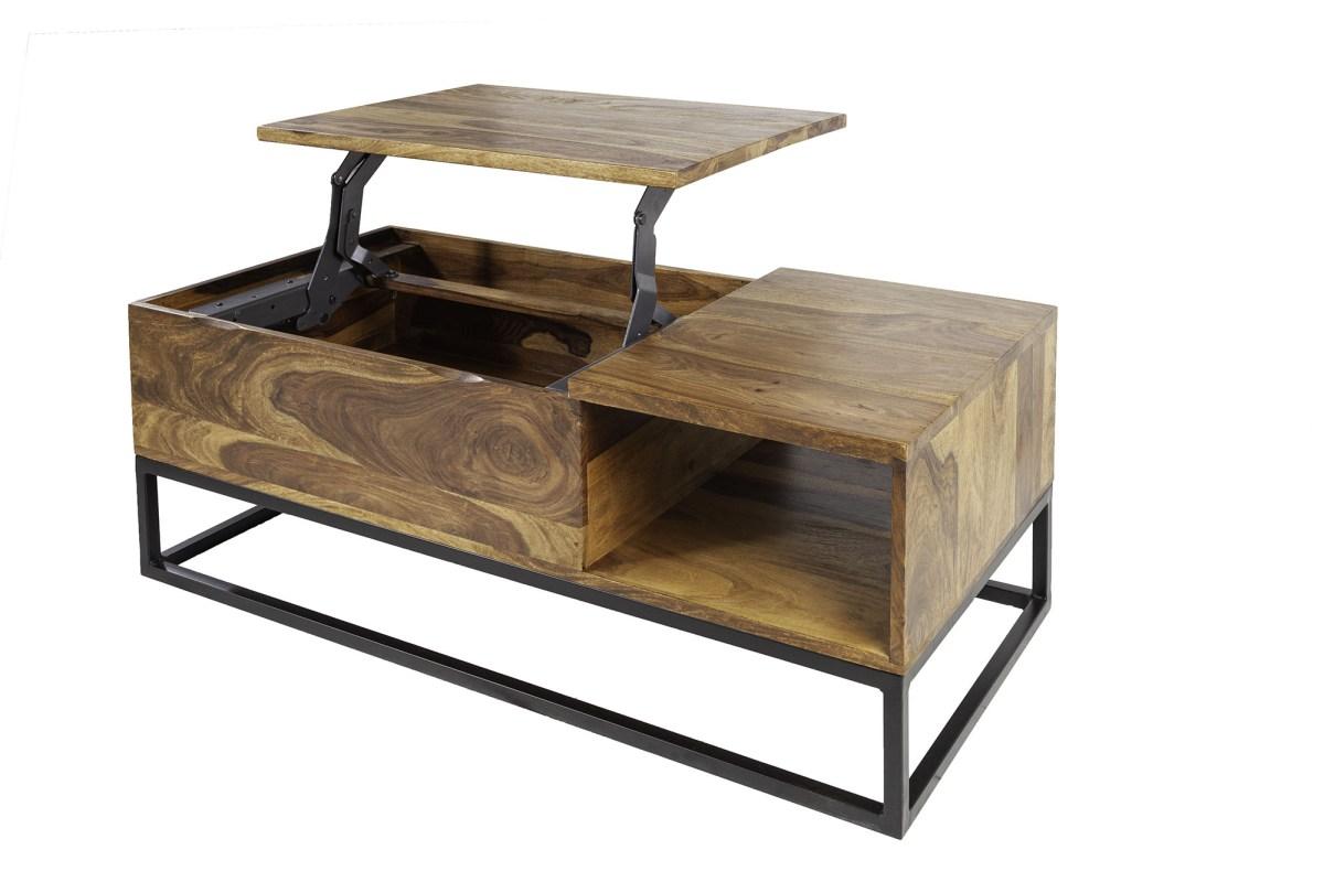 Designový konferenční stolek Elegant Function 110 cm sheesham