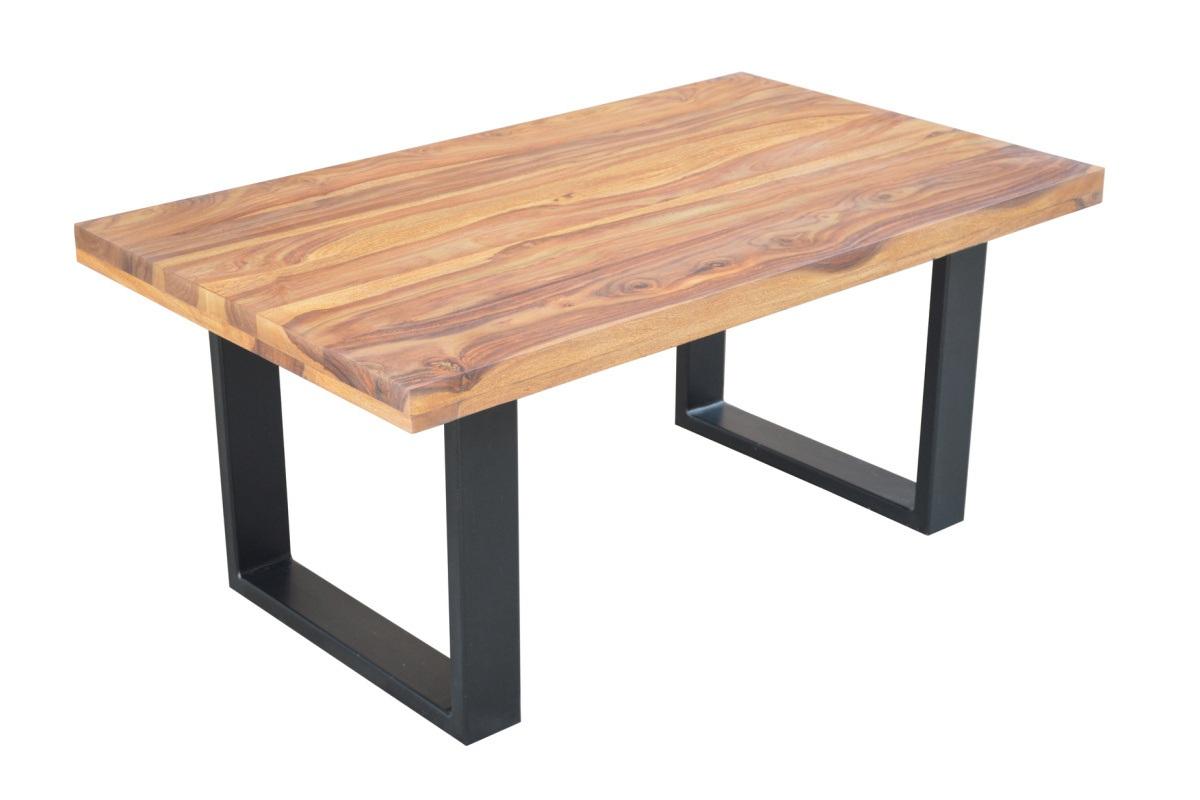 Designový konferenční stolek Thunder 100 cm sheesham
