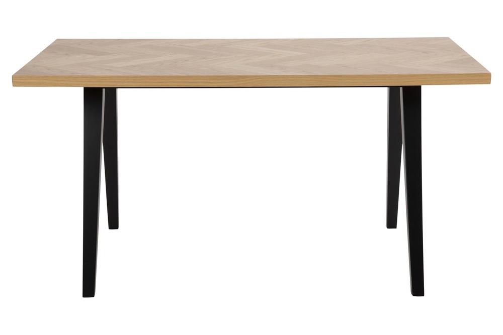 Designový jídelní stůl Cristopher 150 cm vzor dub