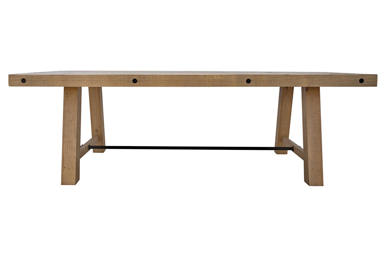 Designový jídelní stůl Harlow 240 cm borovice