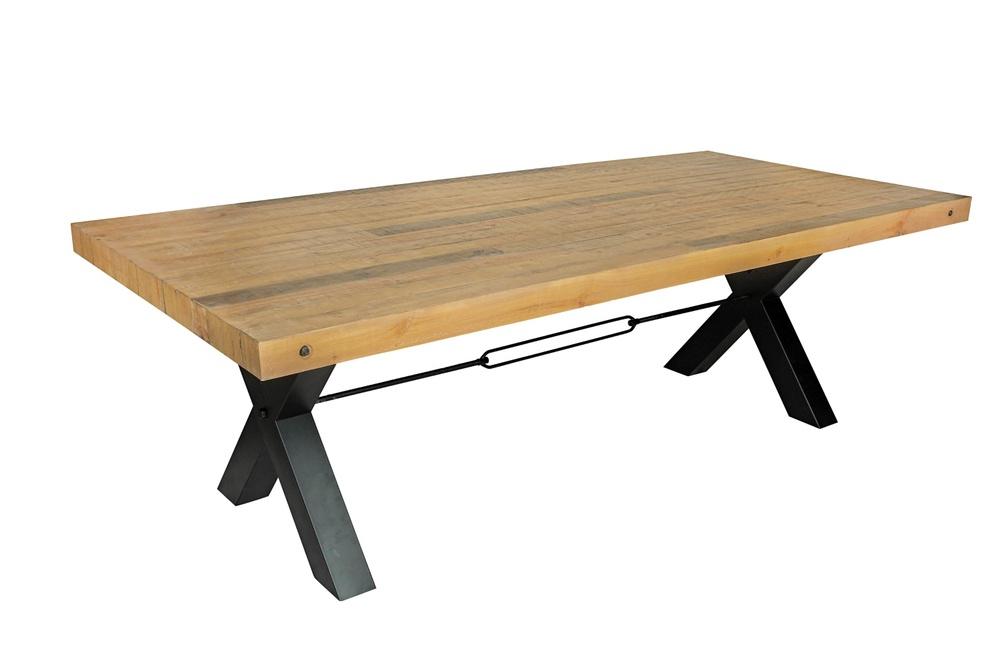 Designový jídelní stůl Thunder 200 cm přírodní - borovice