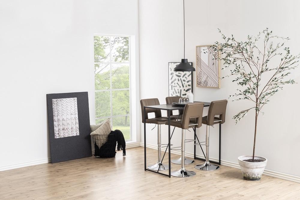 Designová barová židle Almonzo cappuccino