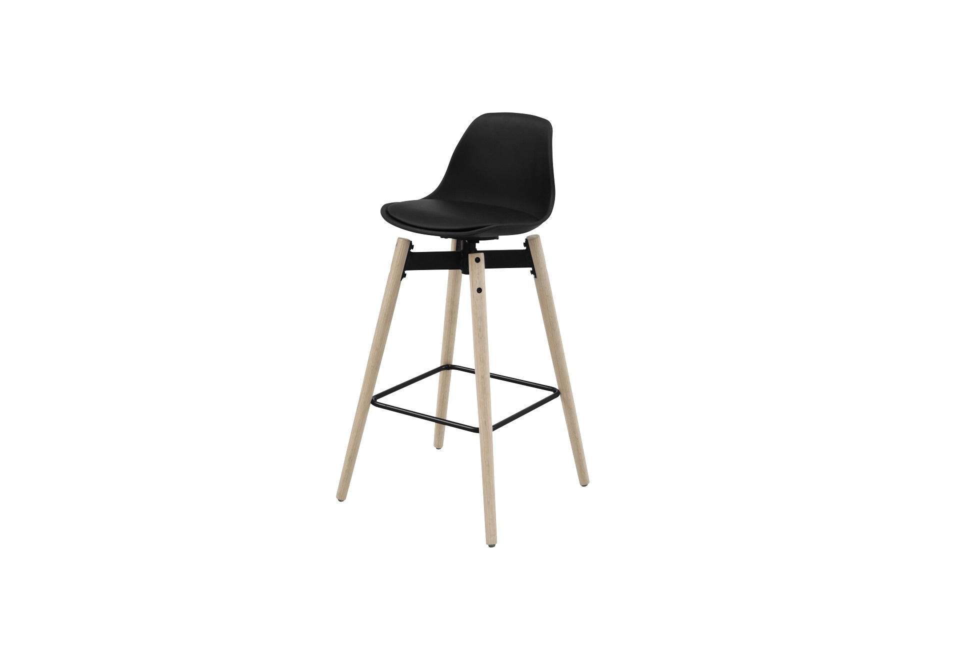 Designová barová židle Alter černá - Skladem na SK (RP)