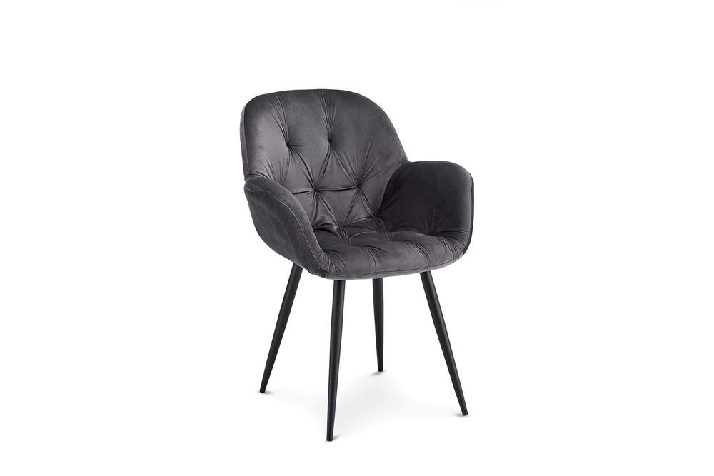 Designová jídelní židle Aeacus, šedá
