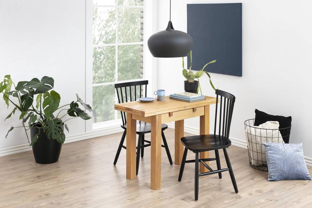 Designová jídelna židle Neri černá