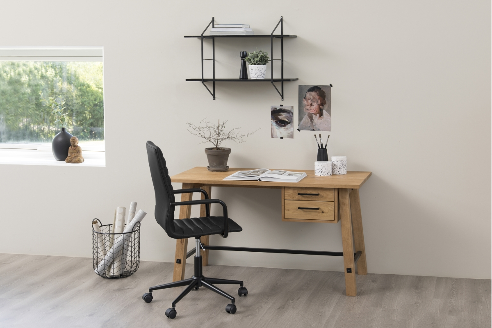 Designová kancelářská židle Narina černá