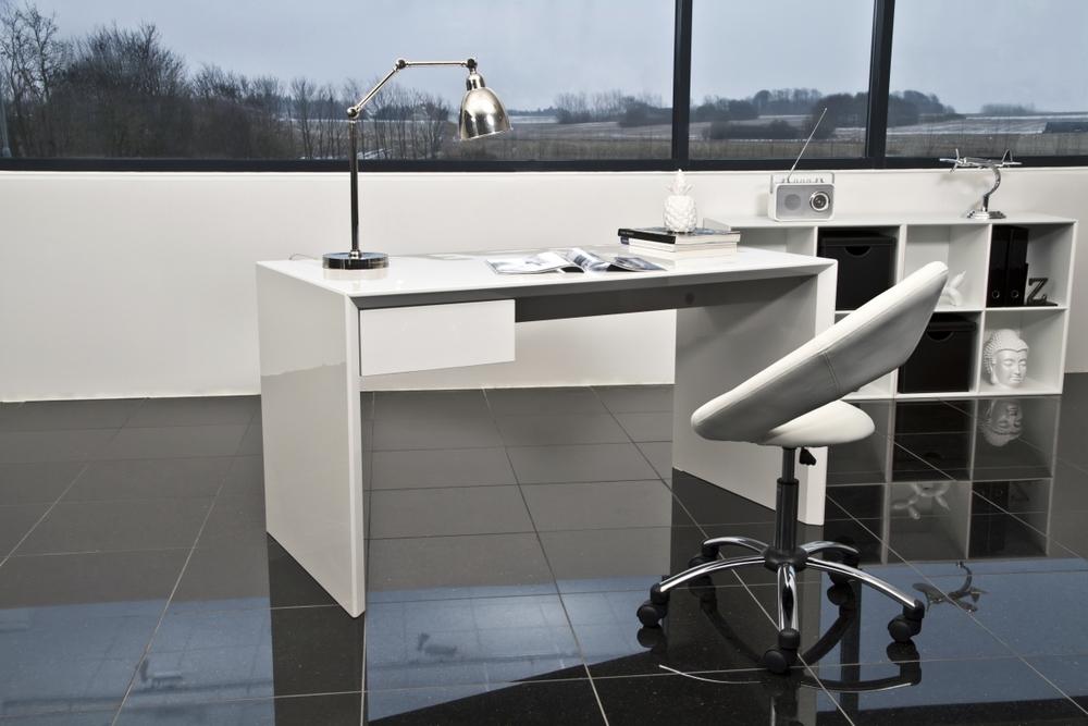 Designová kancelářská židle Navi bílá