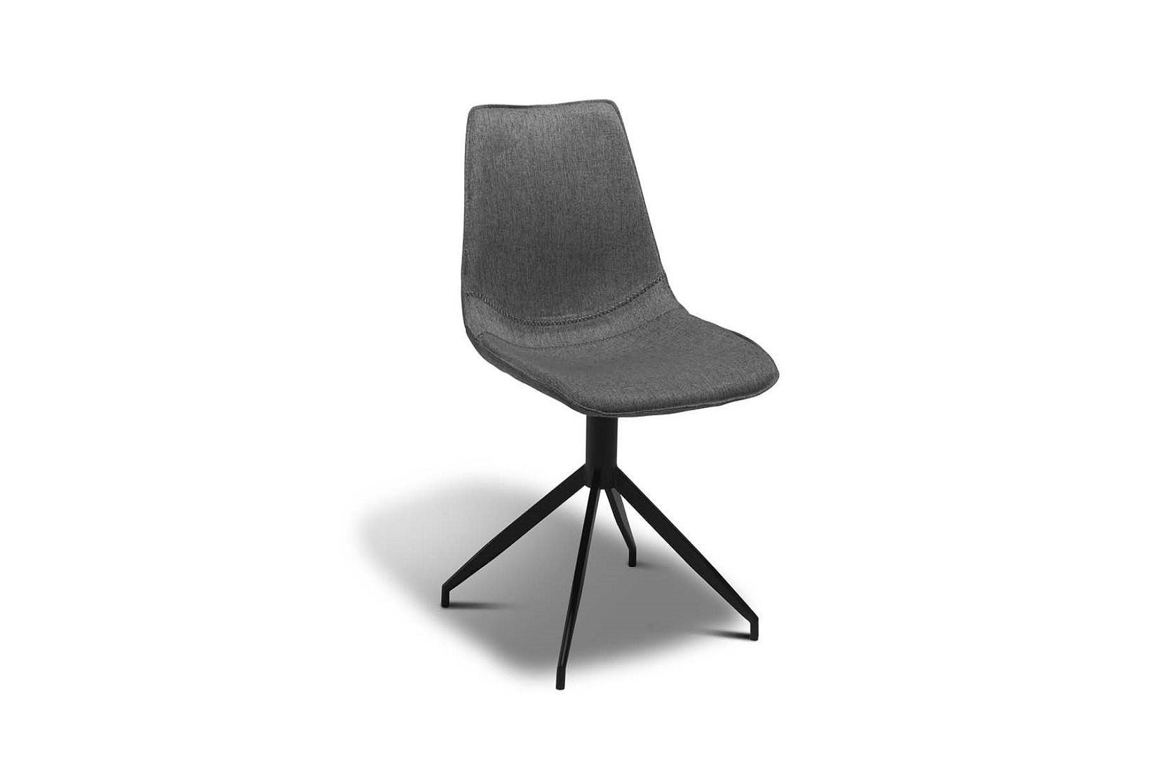 Designová židle Aaru, šedá