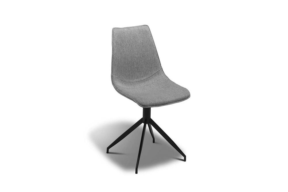 Designová židle Aaru, světlešedá