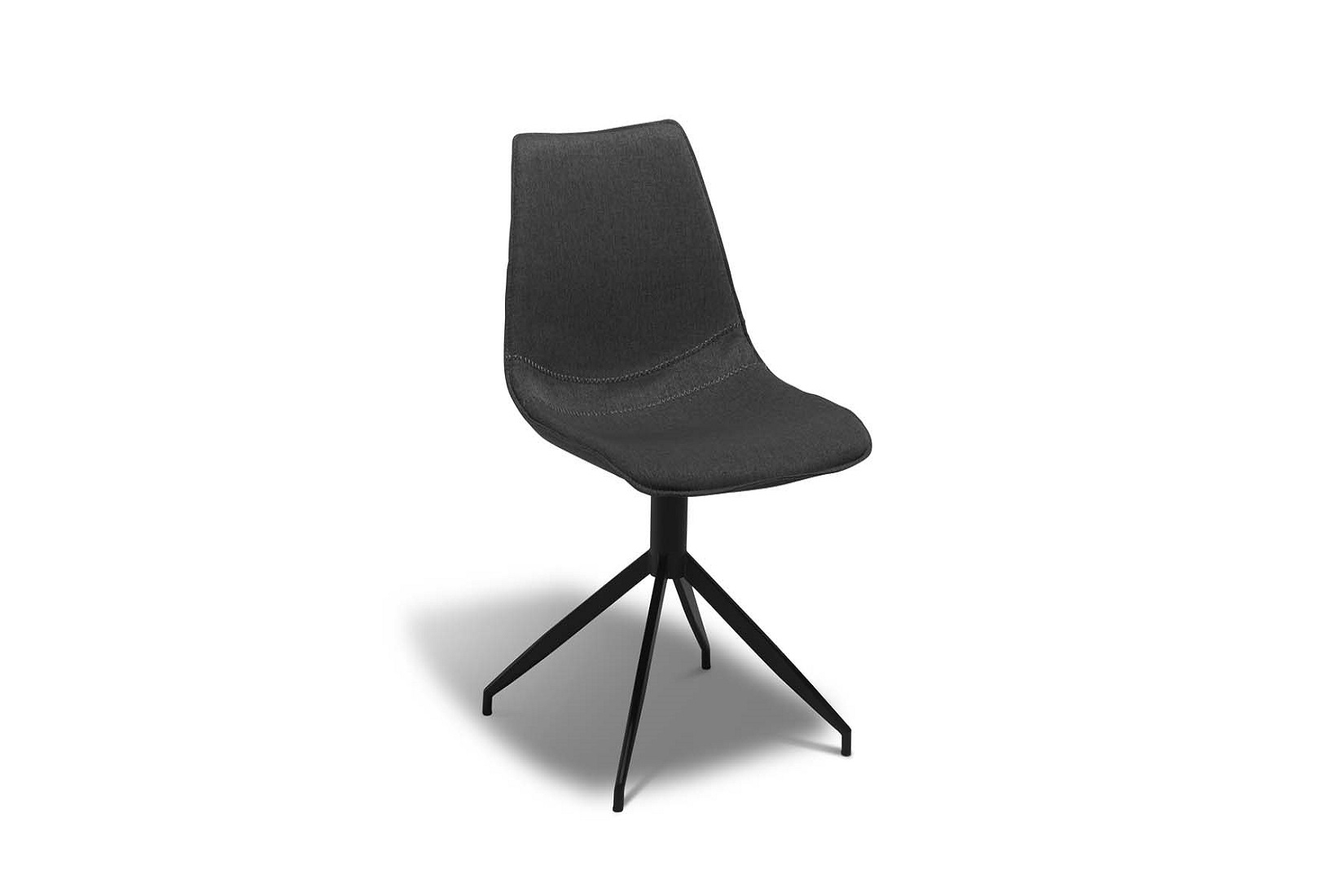 Designová židle Aaru, tmavě šedá